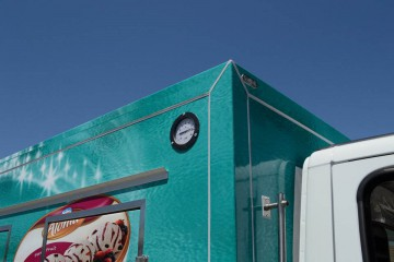 UNICE sladoledara, očitavanje temperature spolja