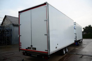 UNIT O2, prevoz konfekcije