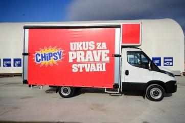 UNI AL prevoz Chipsy-a, maksimalna zapremina 1