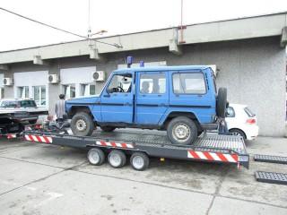 UNIT O2, prevoz policijskih automobila 4
