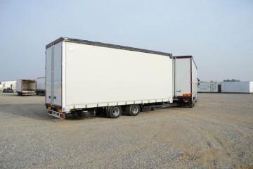 UNI CARGO XL TAUTLINER tandem 120m3 2