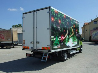 UNIC ATP prevoz cveća, pogled od pozadi