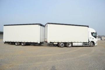 UNI CARGO XL TAUTLINER tandem 120m3 3