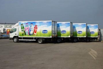 UNIC ATP flota za distribuciju mleka 1