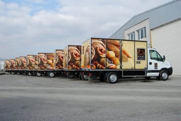 UNIC prevoz hleba