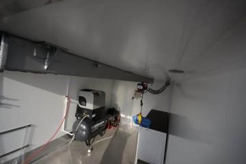 UNIC pokretna radionica detalj krovnog nosača