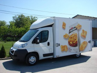 UNI CARGO OPEN BOX prevoz Chipsy-a maksimalne zapremine 1