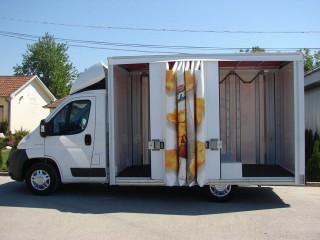 UNI CARGO OPEN BOX prevoz Chipsy-a maksimalne zapremine 2