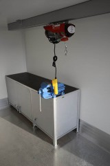 UNIC pokretna radionica, detalj radnog stola