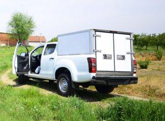 UNIC Isuzu Monster truck D Max prevoz eksploziva 2 ADR