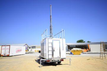 UNI AL Mobilna GSM stanica 8