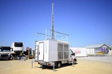 UNI AL Mobilna GSM stanica 9