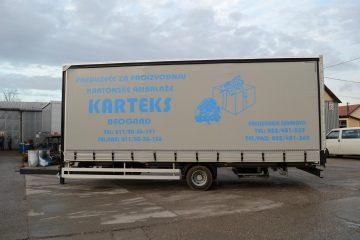 UNIT O3 TAUTLINER, model UniOne, prevoz kartonske ambalaže 2