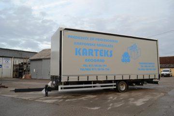 UNIT O3 TAUTLINER, model UniOne, prevoz kartonske ambalaže 5