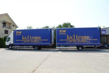 UNI CARGO TAUTLINER 11t, KidTrans međunarodni transport 1
