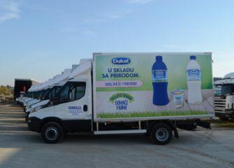 UNIC flota za prevoz mleka i mlecnih proizvoda 2