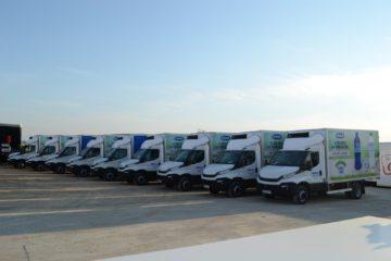UNIC flota za prevoz mleka i mlecnih proizvoda
