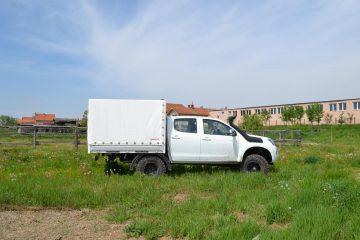 UNI CARGO TARPSIDES, Isuzu Monster truck D Max 4