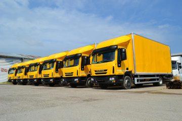 UNI AL vozila pošte Srbije 2