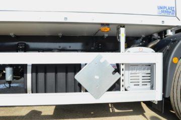 Kamion za prevoz opasnih materija 2, ADR EXIII, bruto 18t, detalj
