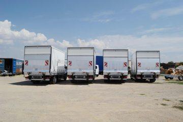 UNI CARGO TARPSIDES flota za prevoz alkoholnih i bezalkoholnih pića 2