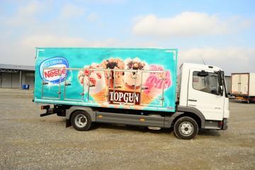 UNICE sladoledara, pogled sa desne strane