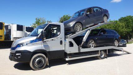 UNI CARGO CAR STEEL navoz na sprat za prevoz dva automobila