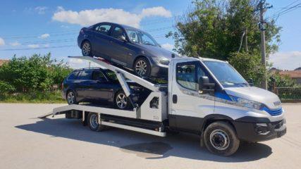 UNI CARGO CAR STEEL navoz na sprat za prevoz dva automobila 3