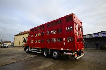 UNI CARGO ANIMAL nadogradnja za prevoz živih životinja II nivoa