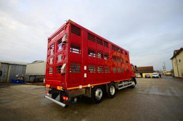 UNI CARGO ANIMAL nadogradnja za prevoz živih životinja II nivoa 7
