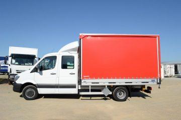UNI CARGO TARPSIDES transport opasne robe ADR 3