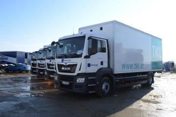 UNIC flota vodeće kompanije za logistiku u Austriji