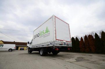 UNI CARGO TARPSIDES nadogradnja bruto mase 3500kg 2