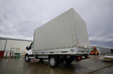 UNI CARGO TARPSIDES na Ford Transit-u bruto mase 3,5t 3