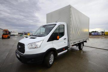 UNI CARGO TARPSIDES na Ford Transit-u bruto mase 3,5t