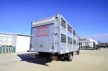 UNI CARGO ANIMAL nadogradnja - aluminijumska, za prevoz živih životinja