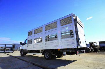 UNI CARGO ANIMAL nadogradnja - aluminijumska, za prevoz živih životinja 8