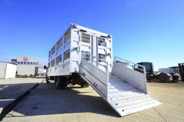 UNI CARGO ANIMAL nadogradnja - aluminijumska, za prevoz živih životinja 2