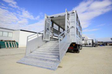 UNI CARGO ANIMAL nadogradnja - aluminijumska, za prevoz živih životinja 7