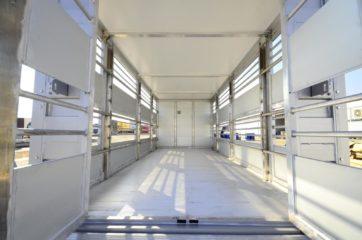 UNI CARGO ANIMAL nadogradnja - aluminijumska, za prevoz živih životinja 4
