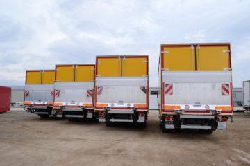 UNI CARGO TARPSIDES flota nadogradnji Pošte Srbije 2