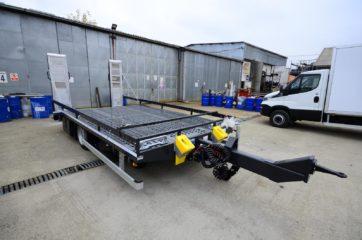 UNIT O3 FLAT, model UniOne bruto 9t, prevoz gradjevinskih masina