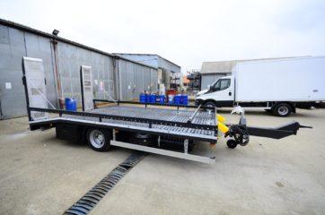 UNIT O3 FLAT, model UniOne bruto 9t, prevoz gradjevinskih masina 2