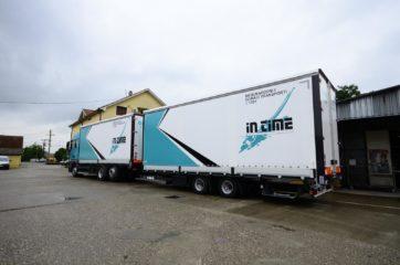 UNI CARGO TARPSIDES kamion bruto 26t i Schmitz prikolica 18t bruto mase 7