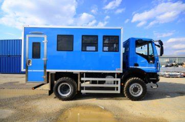 UNIC nadogradnja za prevoz rudara sa 10 sedišta i prostorom za odlaganje alata 8
