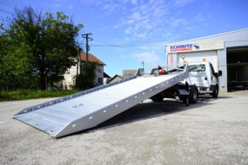 UNI CARGO CAR STEEL obarajuci klizni navoz za prevoz automobila 7