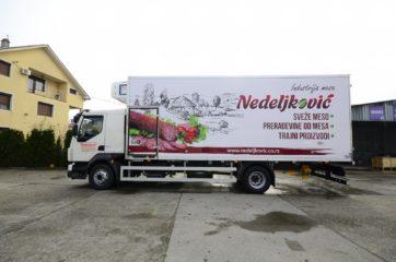 UNIC za prevoz mesa i 5 redova klaničnih glajzeva 5