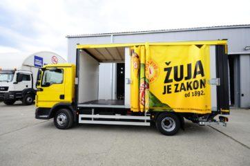 UNI CARGO OPEN BOX za prevoz pića, sa utovarnom rampom i klapnom 2