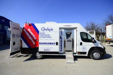 UNIVANS mobilna banka - kancelarija i ATM bankomat u vozilu 5