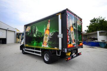 UNI CARGO OPEN BOX prevoz pica - transport Niksickog piva